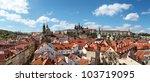 Panoramic View Of Prague Castl...