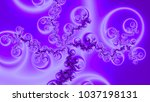 Pretty Pastel Fractal Abstract...