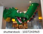Lego Dragon In New York