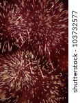 Small photo of Close up of fireworks for an explosive background