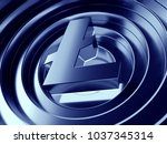 litecoin crypto currency symbol ... | Shutterstock . vector #1037345314