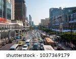 bangkok thailand   march 1 ...   Shutterstock . vector #1037369179