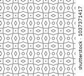 geometric ornamental vector... | Shutterstock .eps vector #1037371417