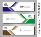 banner background modern...   Shutterstock .eps vector #1037378131
