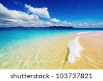 Tropical Beach  Andaman Sea ...