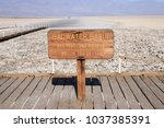 Badwater Basin In  Death Valle...