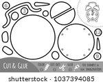 education paper game for... | Shutterstock .eps vector #1037394085