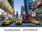 new york city   may 22  times... | Shutterstock . vector #103740419