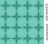 vector moroccan repeat pattern... | Shutterstock .eps vector #1037419375
