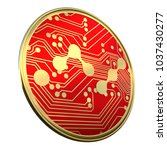 nano  nano  digital... | Shutterstock . vector #1037430277