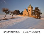 Old Church At Vitochov Village...