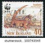 new zealand   circa 1991  a... | Shutterstock . vector #103743545
