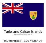 high detailed vector flag of... | Shutterstock .eps vector #1037436409