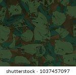 oil painting on canvas handmade....   Shutterstock . vector #1037457097