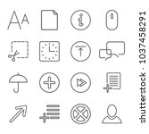simple icons for app  programs...