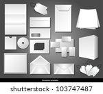 corporate templates   Shutterstock .eps vector #103747487