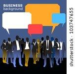 business people | Shutterstock .eps vector #103747655