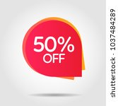 discount offer price label ... | Shutterstock .eps vector #1037484289