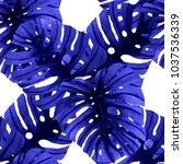watercolor seamless pattern... | Shutterstock . vector #1037536339