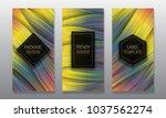 luxury packaging design. set of ...   Shutterstock .eps vector #1037562274
