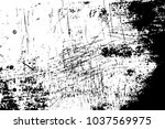 rough scratched texture on wood.... | Shutterstock .eps vector #1037569975