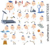 research doctor old men_sports  ... | Shutterstock .eps vector #1037573335