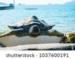 chonburi thailand january 1...   Shutterstock . vector #1037600191