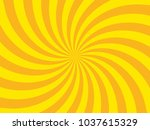 bright sunbeams with yellow... | Shutterstock .eps vector #1037615329