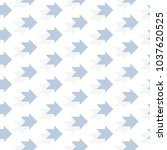 dotted arrow pattern for your...   Shutterstock .eps vector #1037620525