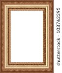 a picture frame on a white | Shutterstock . vector #103762295