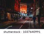 london  uk   march  2018. a...   Shutterstock . vector #1037640991