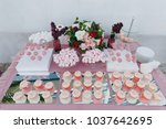 beautiful decoration of the... | Shutterstock . vector #1037642695