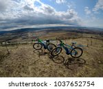 two e bike adventure | Shutterstock . vector #1037652754