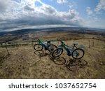 two e bike adventure | Shutterstock . vector #1037652754
