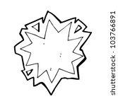 cartoon explosion sign | Shutterstock .eps vector #103766891