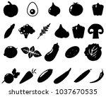 black and white illustration.... | Shutterstock .eps vector #1037670535