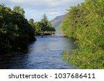 Bridge Over River Oich With...