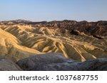 Eroded Mountain Ridges Of...