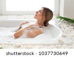 keep your beauty  attractively... | Shutterstock . vector #1037730649