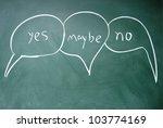 three stance controversy symbols | Shutterstock . vector #103774169