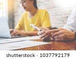 creative team job. young...   Shutterstock . vector #1037792179