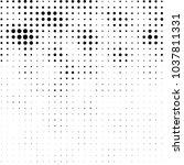 abstract grunge grid polka dot... | Shutterstock . vector #1037811331