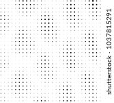 abstract grunge grid polka dot... | Shutterstock . vector #1037815291