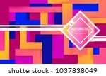 abstract background modern... | Shutterstock .eps vector #1037838049