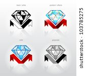 identity symbol for jewelry... | Shutterstock .eps vector #103785275