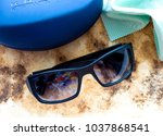 Small photo of GOMEL, BELARUS - FEBRUARY 12, 2018: Kata sunglasses. Kata Eyewear is sold in finer optical and specialty stores worldwide.
