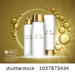 beauty skin care design over... | Shutterstock .eps vector #1037873434