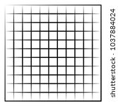 grid  mesh  intersecting lines... | Shutterstock .eps vector #1037884024