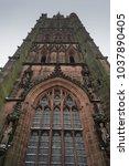 holl trinity church  broadgate  ... | Shutterstock . vector #1037890405