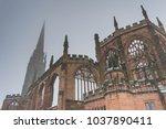 holl trinity church  broadgate  ... | Shutterstock . vector #1037890411